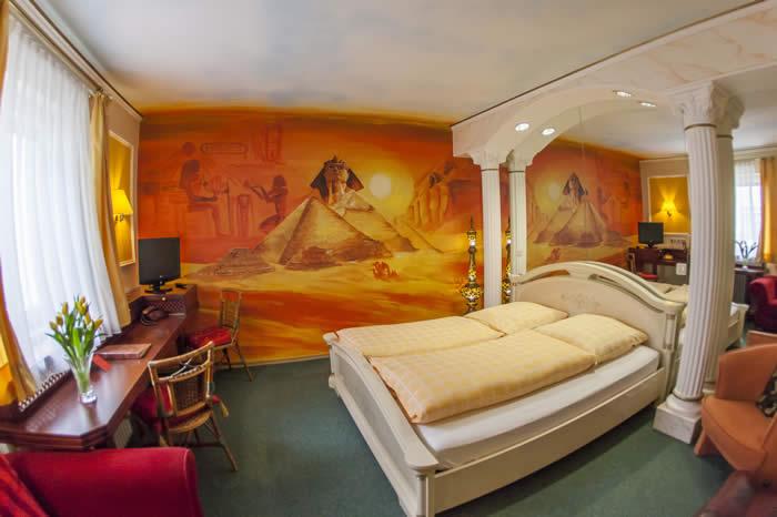 Das Ägyptische Zimmer im Wellness-Hotel Plankl in Altötting