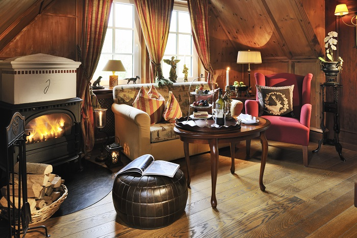 Country-Lord-Suite im Hotel Jagdhof Glashütte