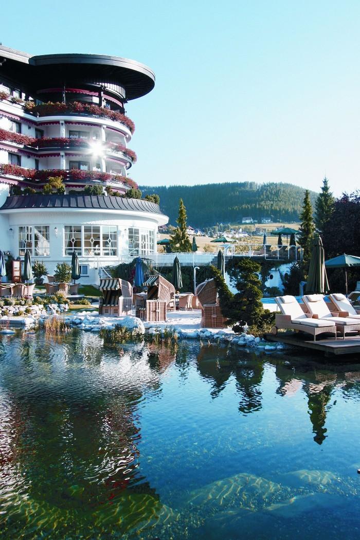 Das luxuriöse Hotel Bareiss in Baiersbronn im Schwarzwald