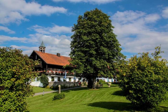 Das Hotel Gut Schmelmerhof in Sankt Elmar im idyllischen Bayerischen Wald