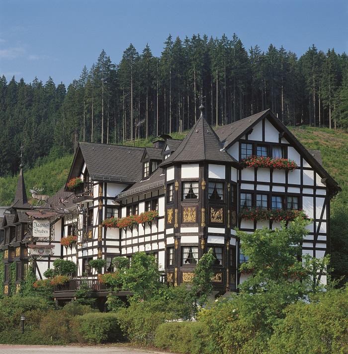 Das rustikale Hotel Jagdhof Glashütte in Bad Laasphe (NRW)