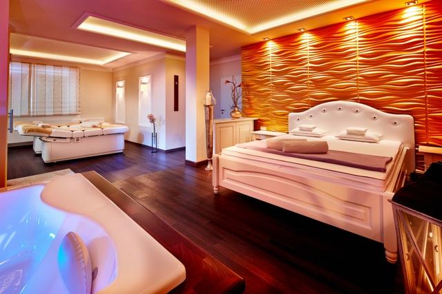 Hotel k nig ludwig in schwangau exklusive suite mit whirlpool for Zimmer mit whirlpool nrw