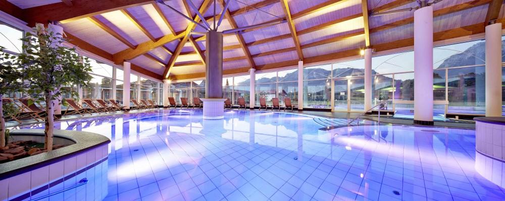 Schöner Wellness-Bereich im Hotel König Ludwig in Schwangau