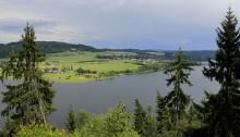 Bleilochstausee / Thüringer Meer in Thüringen