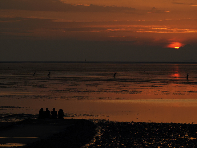 Abends in Cuxhaven