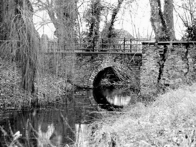 Brücke in Gommern in Sachsen-Anhalt