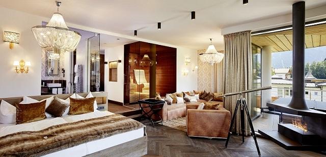 Die exklusive ...schau Ludwig Suite im Hotel König Ludwig in Schwangau