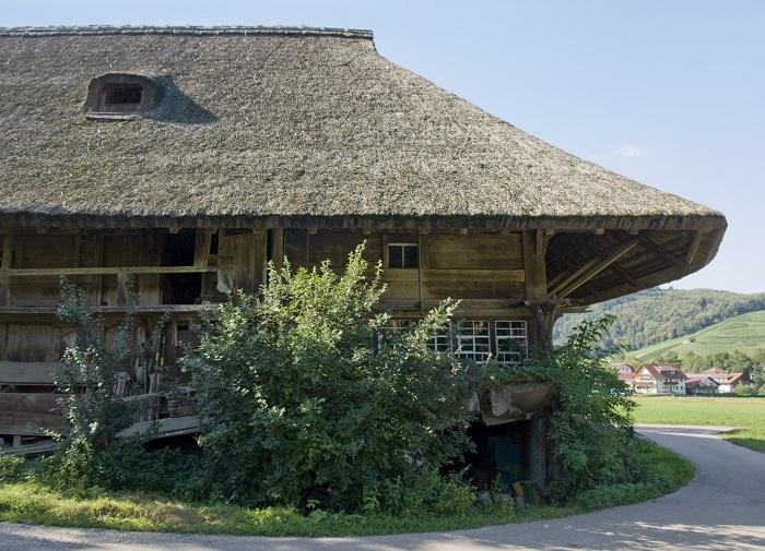 Traditioneller Schwarzwälder Hof im idyllischen Glottertal im Schwarzwald