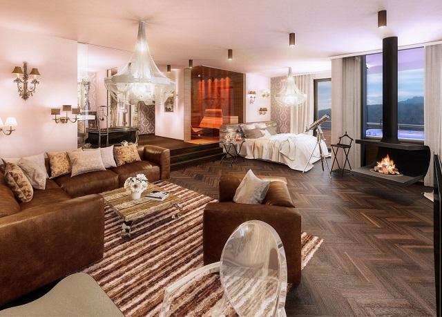 "Suitenhaus ""…Fernblick"" des König Ludwig Wellness & Spa Resort in Schwangau"