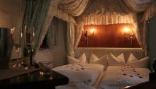 Romantische Turm-Hochzeitssuite in der Wasserburg zu Gommern