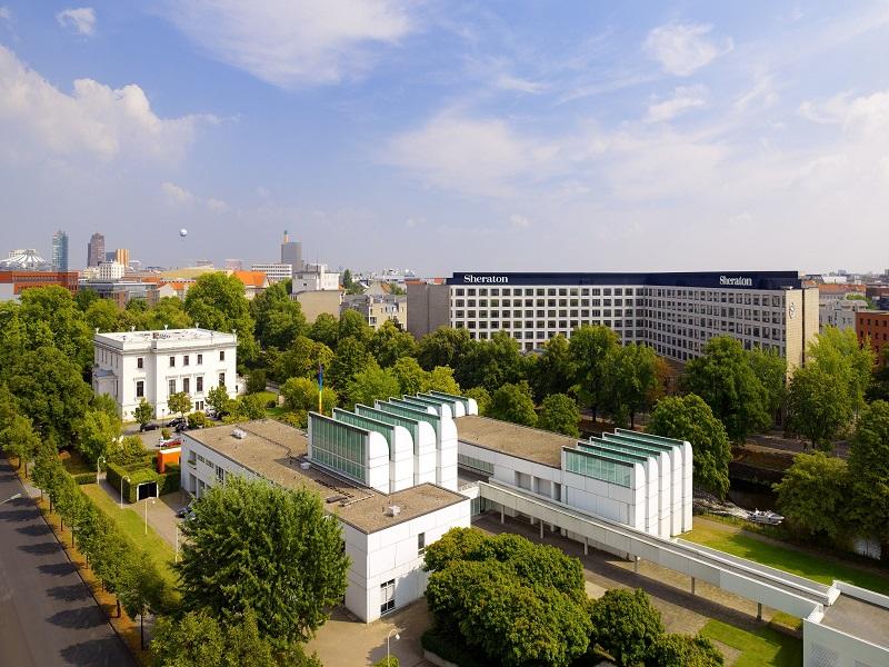 Das exklusive Grand Hotel Esplanade in Berlin - Außenansicht