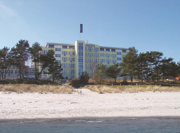 Arkona Strandhotel direkt an der Ostsee auf Rügen