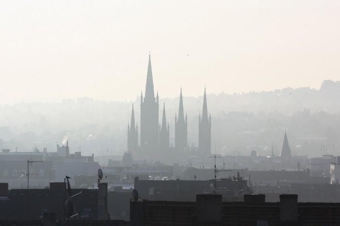 Wiesbaden im Morgengrauen