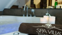 Whirlpool in der exklusiven Wellness-Suite im SPA VILLA – Beauty & Wellness Resort im Eichsfeld